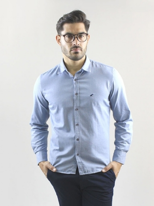 CAMISA CASUAL LISA  SLIM FIT
